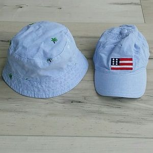 c9ff1a3c Janie and Jack Baby Boy Summer Hats 12-24M